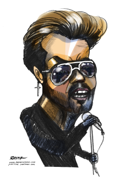 George Michael RIP by Rayma Suprani