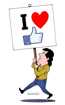 I love social networks by Arcadio Esquivel