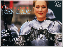 Joan of Arc, starring… by Aislin