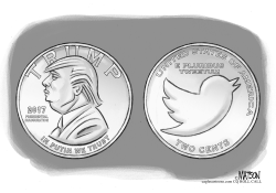 Trump Inauguration Commemorative Coin by RJ Matson