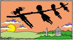 Obama Leaves by Bob Englehart