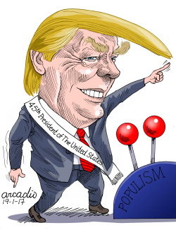 Trump Inauguration/T- oma de posesión by Arcadio Esquivel