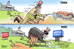 Uncle Sam then and now  by Paresh Nath
