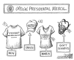Trump apparel by Adam Zyglis