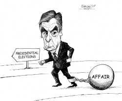 Fillon in trable by Petar Pismestrovic