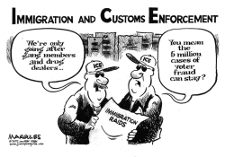 Immigration Raids by Jimmy Margulies