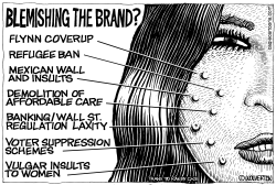 Tarnishing the Trump Brand by Wolverton