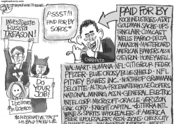 Chaffetz Crowd by Pat Bagley