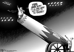 Greatest Show on Earth by Nate Beeler