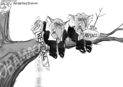 Repeal and Replace by Pat Bagley