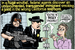 LOCAL CA Federal Raids on Everything by Wolverton