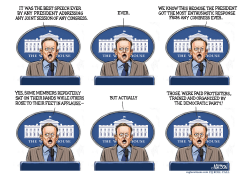 Sean Spicer Press Briefing After Trump Speech- by RJ Matson