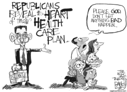 GOP Health Care by Pat Bagley