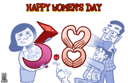 Happy women's day by Luojie
