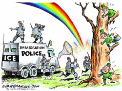 St Pats Day and ICE roundup  by Dave Granlund