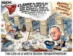 White House Mess by Steve Sack