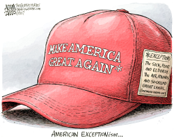 MAGA Hat by Adam Zyglis