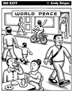 World Peace by Andy Singer
