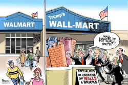 Trump's WALL-MART by Paresh Nath