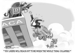 Trump Waits For Democrats To Reach Out To Help by RJ Matson