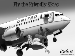 United Kicks Off Passenger by Trevor Irvin