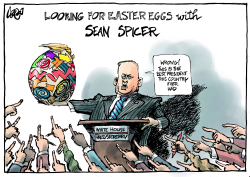 Sean Spicer and Easter by Jos Collignon