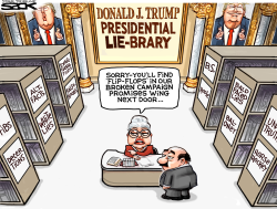 Liar in Chief by Steve Sack