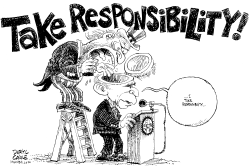 Take Responsibility by Daryl Cagle