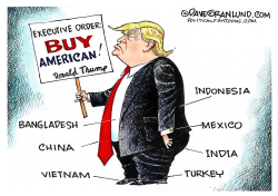 Buy American exec order  by Dave Granlund