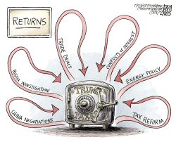 Tax Returns  by Adam Zyglis