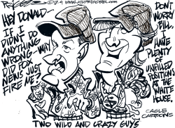 O'Reilly and wing-man by Milt Priggee