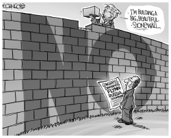 Build a Stonewall BW by John Cole