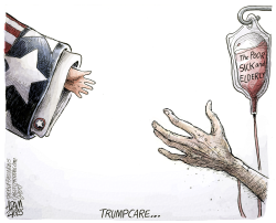 Trumpcare  by Adam Zyglis