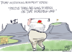 Monumental Jerk by Pat Bagley
