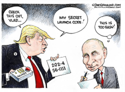 Trump and US secrets  by Dave Granlund