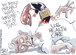 Health Care Diagnosis by Pat Bagley