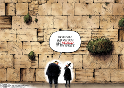 Western Wall by Nate Beeler