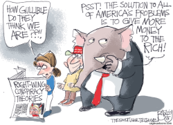Conspiracy Theory by Pat Bagley