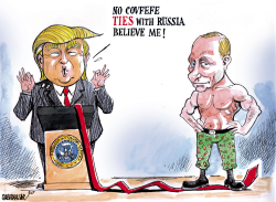 No Covfefe ties with Russia by Sabir Nazar