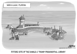 Future Site of Trump Presidential Library by RJ Matson