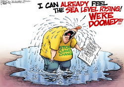 Climate Tears by Nate Beeler