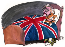 Britain, Theresa May and Terrorism by Christo Komarnitski