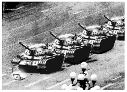 Tiananmen Censored by Jose Neves