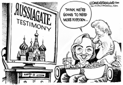 Russiagate testimony by Dave Granlund
