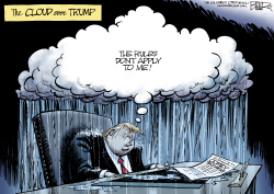 Trump Cloud by Nate Beeler