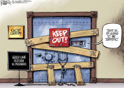 Keep Out by Nate Beeler