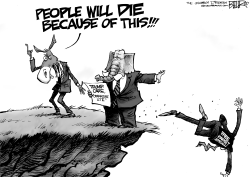 People Will Die by Nate Beeler
