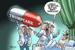 TRUMPCARE pill by Paresh Nath