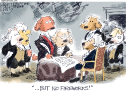 Doglaration of Independence by Pat Bagley