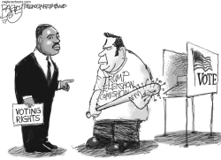 Voter Suppression by Pat Bagley